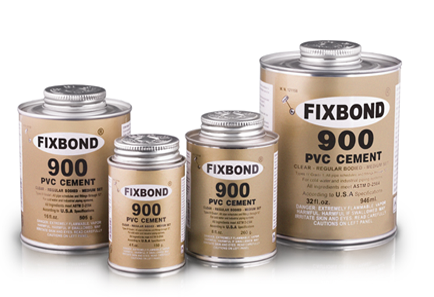 Fixbond solvent cement, Fixbond PVC and CPVC solvent cement